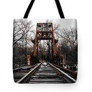 Winter Walk - Orange Tote Bag