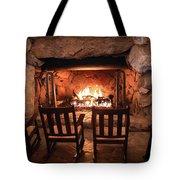Winter Warmth Tote Bag