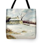 Winter Washday Tote Bag