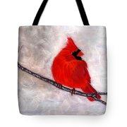 Winter Watch Tote Bag