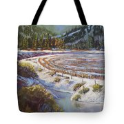 Winter Wheat Tote Bag