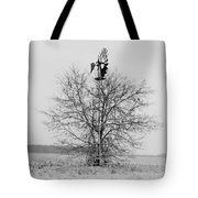 Winter Windmill Tote Bag