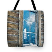 Winter Windows Tote Bag