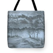 Winter With My Lover Tote Bag