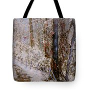 Winter Wonderland Tote Bag by Ben Kiger
