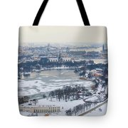 Winter Wonderland In Stockholm Tote Bag