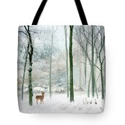 Winter Woodland Tote Bag