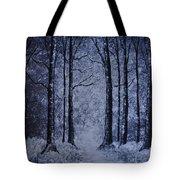 Winter Woods Eve Tote Bag