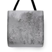 Winter Woods Tote Bag