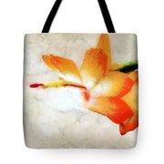 Winterbloom Tote Bag