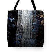 Winterfest Chandelier Spotlight Tote Bag