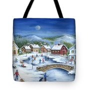 Winterfest Tote Bag