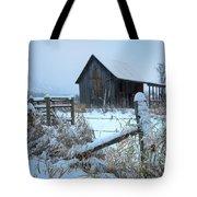 Winters Arrival Tote Bag