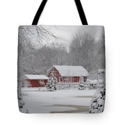 Winter's Beauty Tote Bag