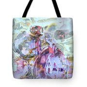 Winters Blast Tote Bag