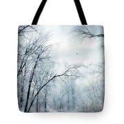 Winter's Cloak Tote Bag