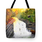 Winter's Coming Tote Bag