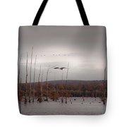 Winters Coming  Tote Bag
