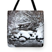 Winters Crossing Tote Bag