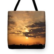 Winters Dawn Tote Bag