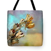 Winters Day Desert Yucca Tote Bag