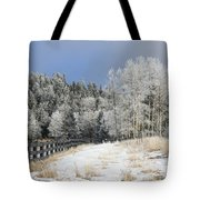 Winters Day In The Mountains Tote Bag