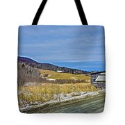 Winters End Tote Bag