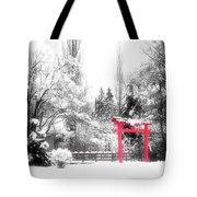 Winter's Entrance Tote Bag