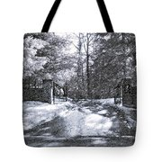 Winter's Gates Tote Bag