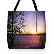 Winters Glow Tote Bag