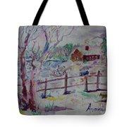Winter's Joys Tote Bag