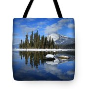 Winters Mirror Tote Bag
