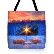 Winter's Morn Tote Bag