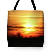 Winters Morning Tote Bag