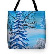 Winters Palette Tote Bag