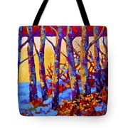Winter's Promise Tote Bag