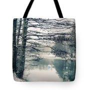 Winter's Reach II Tote Bag
