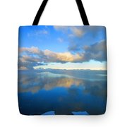 Winter's Refection Tote Bag