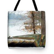 Winter's Rest Tote Bag