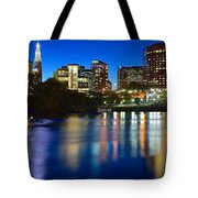 Hartford Lights Tote Bag