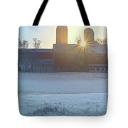 Winter's Welcome Tote Bag