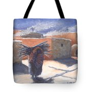 Winter's Work Tote Bag