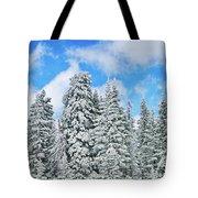 Winterscape Tote Bag