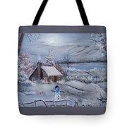 Wintertime Tote Bag
