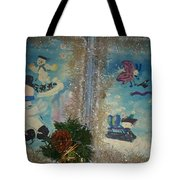 Wintertime Fun With Friends Tote Bag