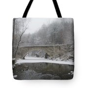 Wintertime In The Wissahickon Valley Tote Bag