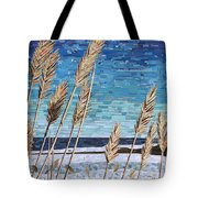 Wintertime On Lake Erie Tote Bag
