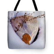 Wintery Still Life Tote Bag