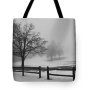 Wintry Morning Tote Bag