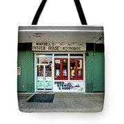Wintzells Front Door In Mobile Alabama Tote Bag